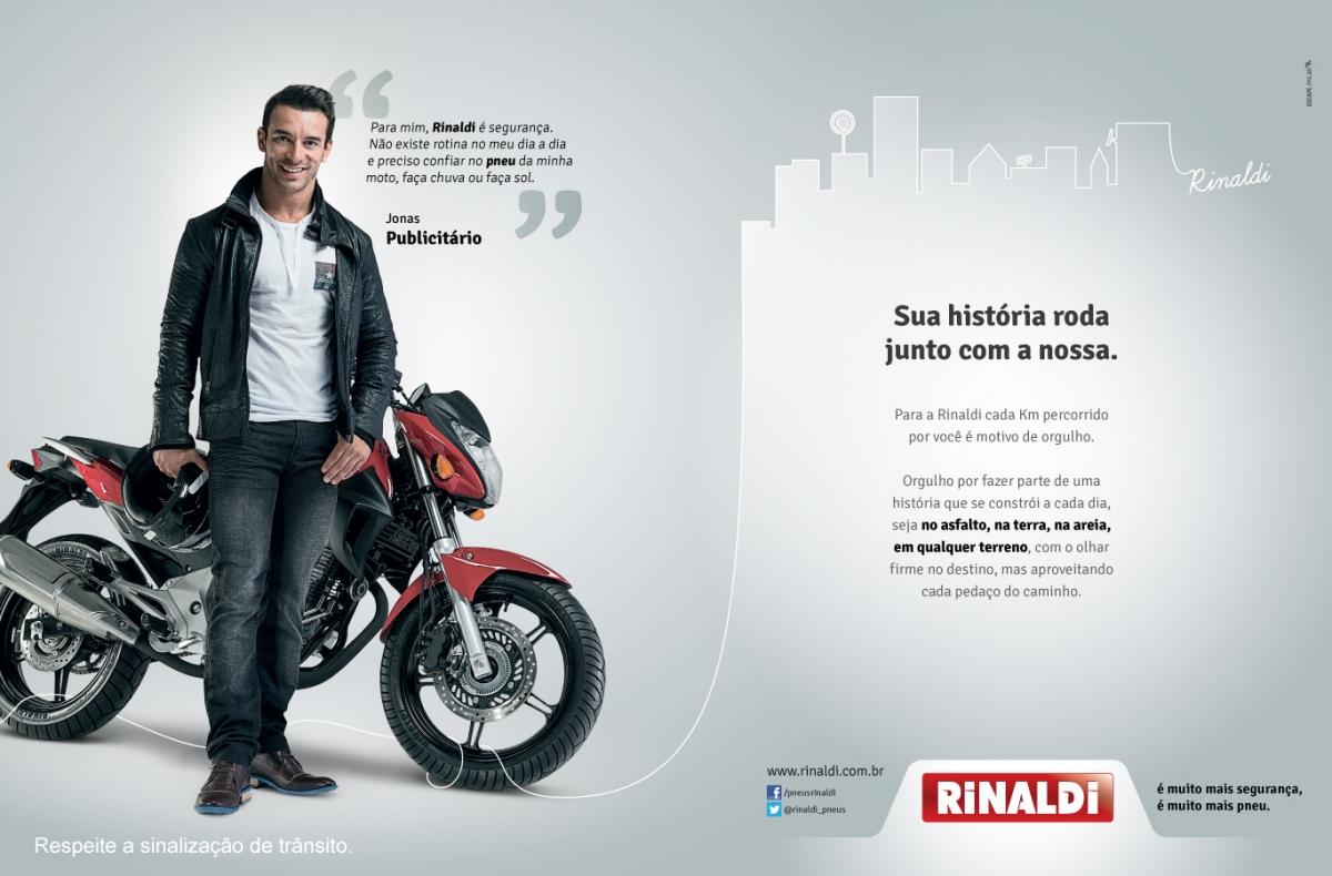Campanha Rinaldi 2013 -  Publicitário