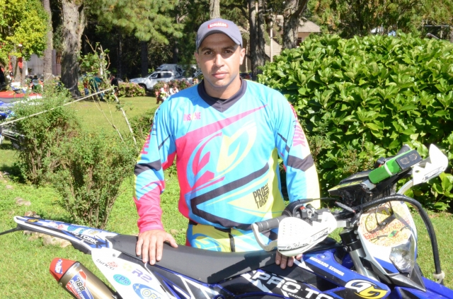 "Emerson Loth ""Bombadinho"", piloto do Team Rinaldi, no Enduro dos Pampas 2015"