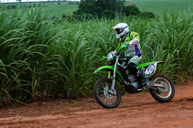 Ramon Sacilotti, do Team Rinaldi, no Rally Barretos 2015
