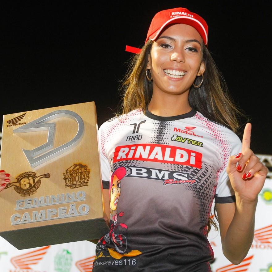 Bárbara Neves ganhou o Enduro da Independência em sua primeira participação
